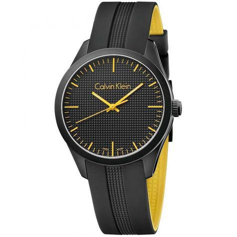 Calvin klein orologio casual black da uomo color k5e51tbx