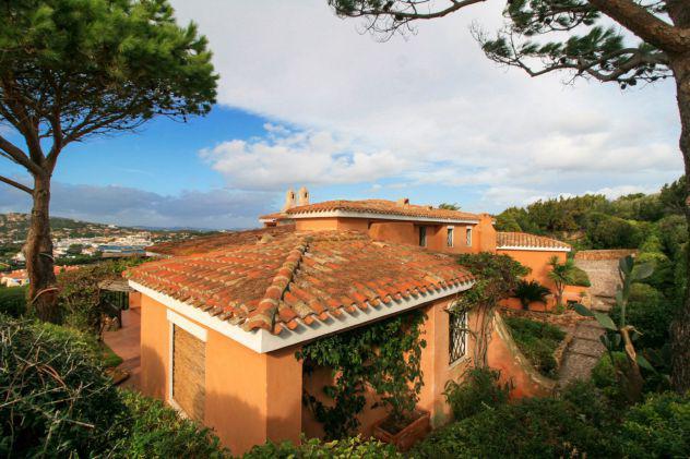 Porto cervo impareggiabile villa vista mare