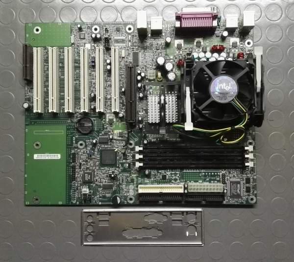 Scheda madre intel d945wn + processore intel pentium 4