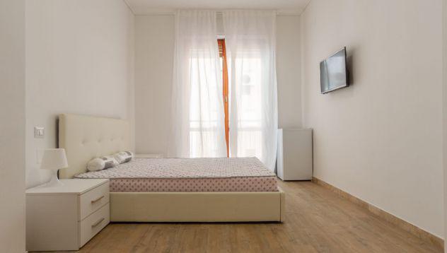 4 stanze singole libere in via f. casoni