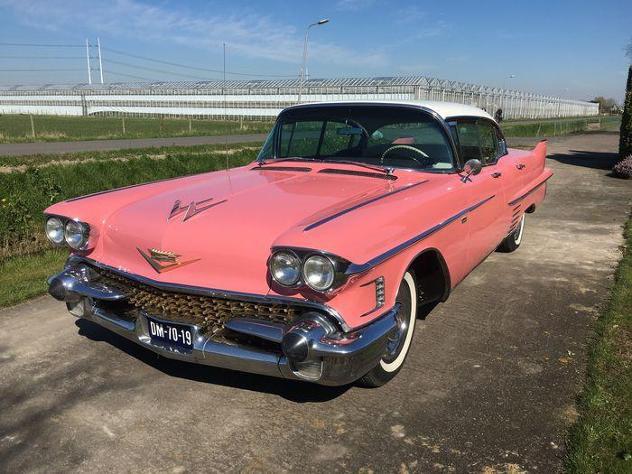 Cadillac - sedan de ville hardtop v8 - 1958
