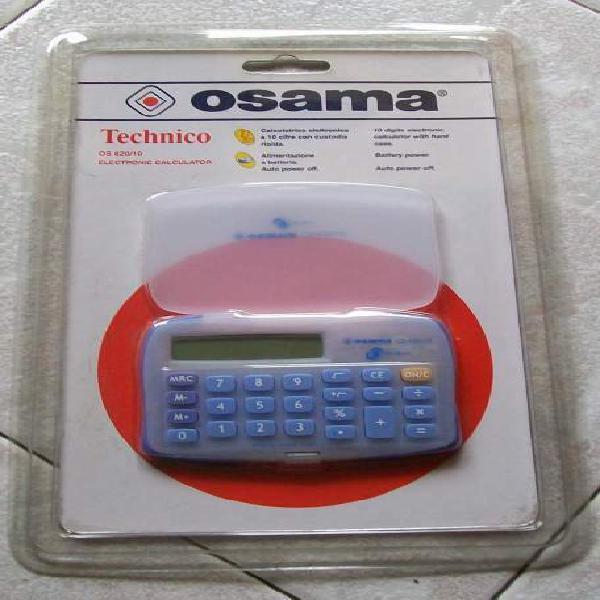 Calcolatrice elettronica osama 10 cifre portatil nuovo