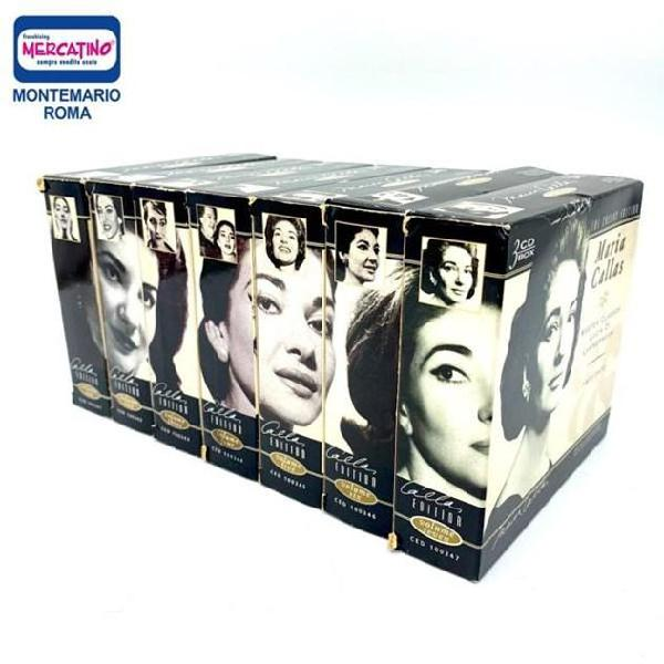 Cofanetto cd the callas collection 21 cd