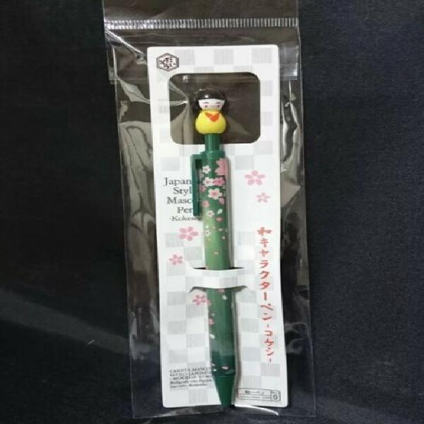 Penna giappone geisha kokeshi idea regalo
