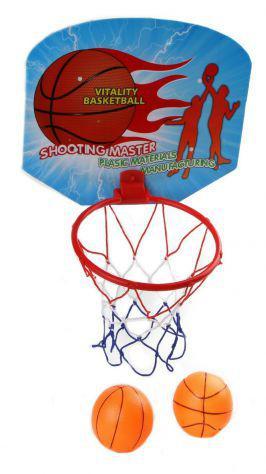 Set canestro mini basket cesto con 2 palle gioco per bambini