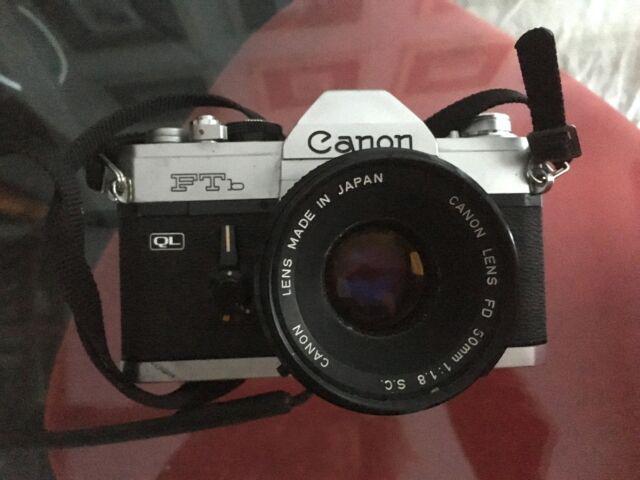 Canon ftb ql macchina fotografica manuale 50mm