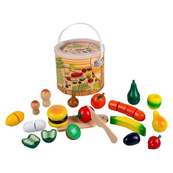 Happy people frutta e verdura giocattoli in legno