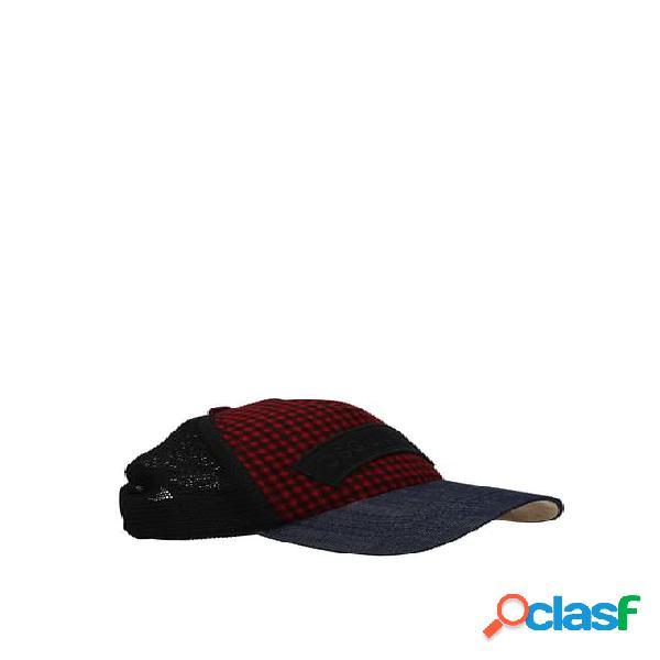 Cappelli dsquared2 uomo rosso unica