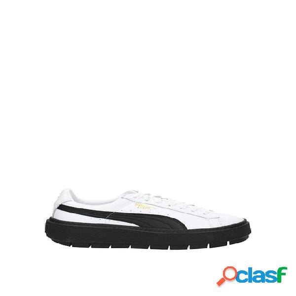 Sneakers puma platform trace donna bianco 36