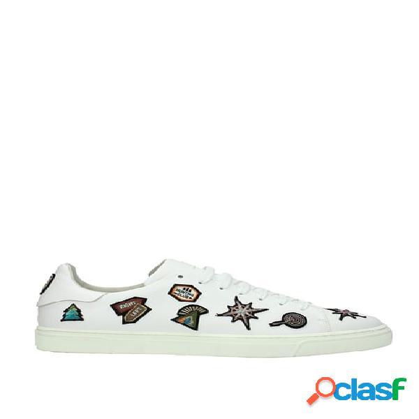 Sneakers louis leeman uomo bianco 44