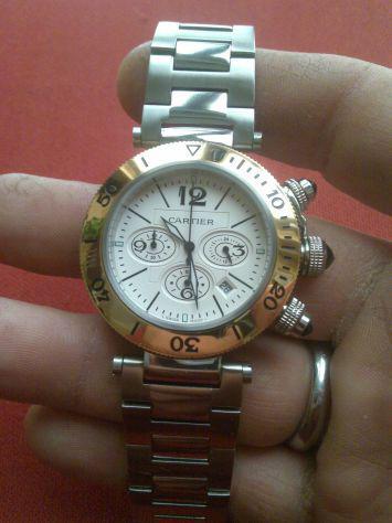 Cartier pasha crono quartz nuovo