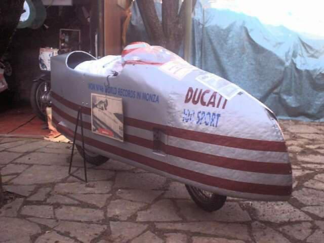 Ducati replica siluro 100cc records mondiali 1956