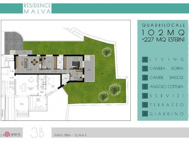 Appartamento di 122mq in via michele amari 20 a roma