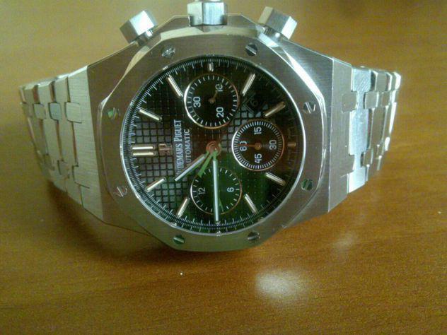 Audemars piguet royal oak 41 mm cronografo automatico clone