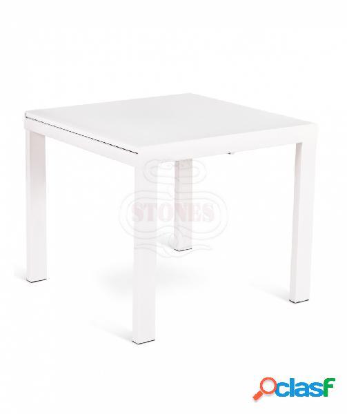 Tavolo Quadrato Allungabile Bianco.Tavolo Quadrato Allungabile Vetro Offertes Aprile Clasf