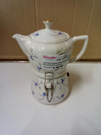 Caffettiera moka bavaria ceramica anni 50/60