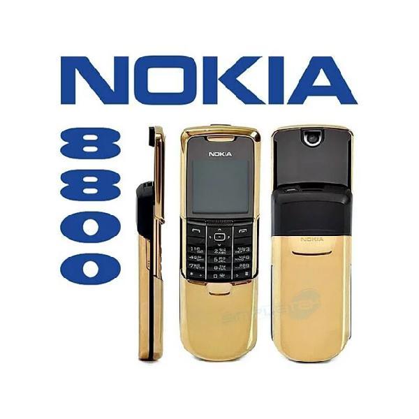 Cellulare nokia 8800 gsm oro gold fotocamera luxury phone