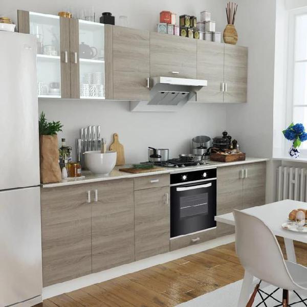 Vidaxl armadi cucina con forno ad incastro con 6 funzioni