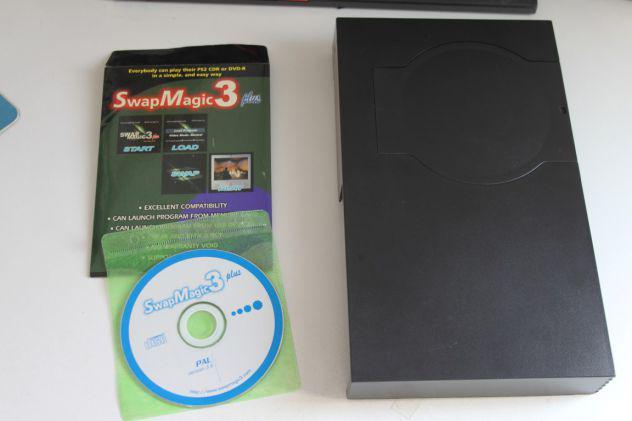 Swap magic playstation 2 fat top loader + disco sw