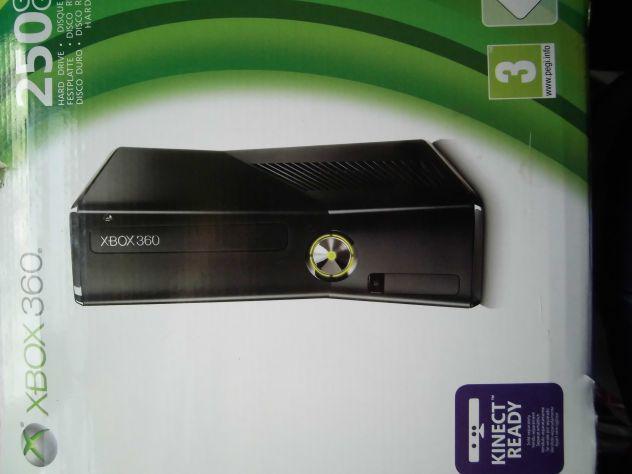 Xbox 360 nuova originale+ accessori+giochi