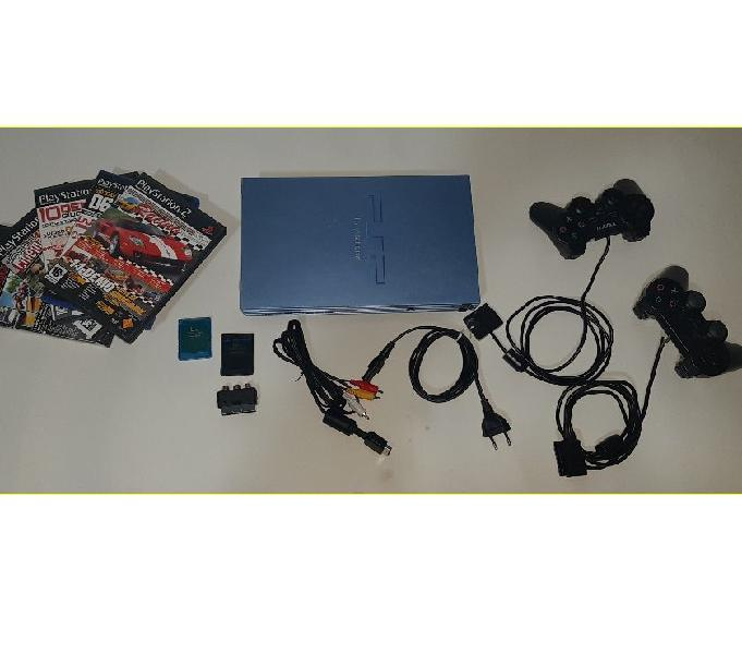 Consolle ps2 sony play station 2 completa