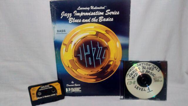 Jazz bass improvisation series blues and the basics