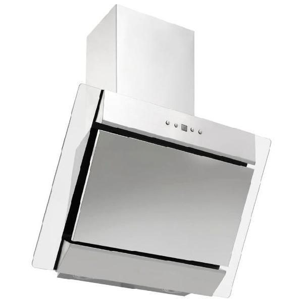 Vidaxl cappa a muro 60 cm in acciaio inox e vetro temperato