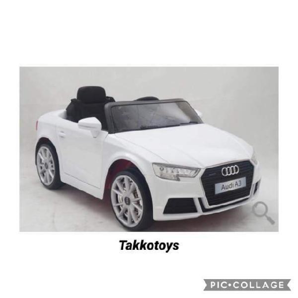 Auto macchina elettrica audi a3 12v restyling 2018/2019