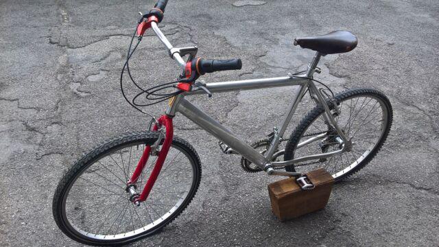 Bici mtb bicicletta uomo telaio alluminio corona campagnolo