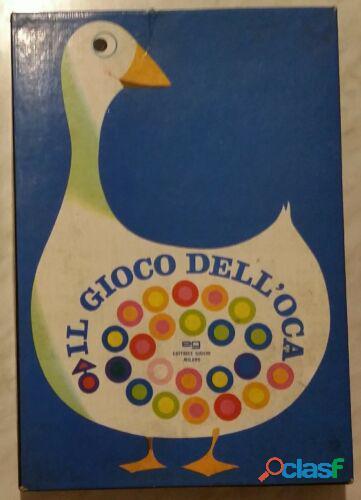 Vintage gioco dell'oca in scatola editrice giochi eg milano anni '70 ottimo