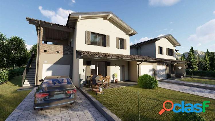 Appartamento nuovo con terrazzo e giardino privato