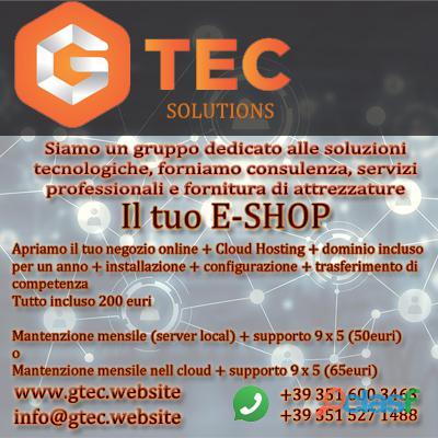 E shop online platform e commerce