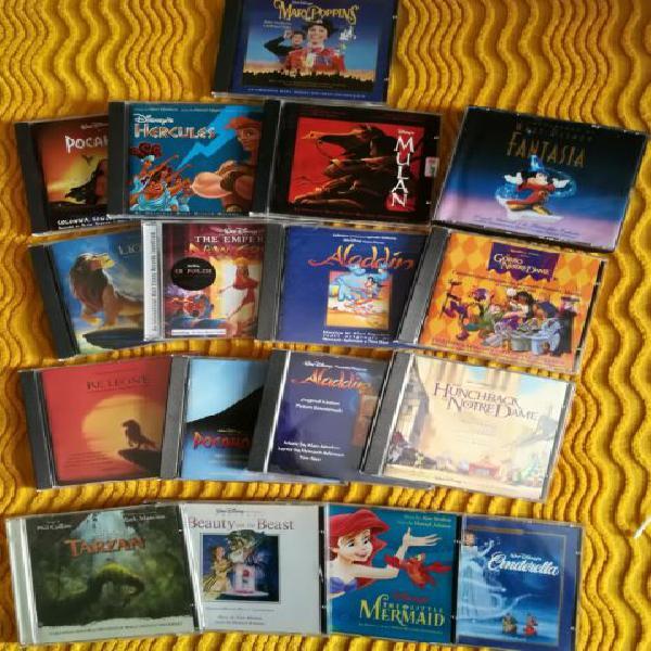 Collezione cd originali disney