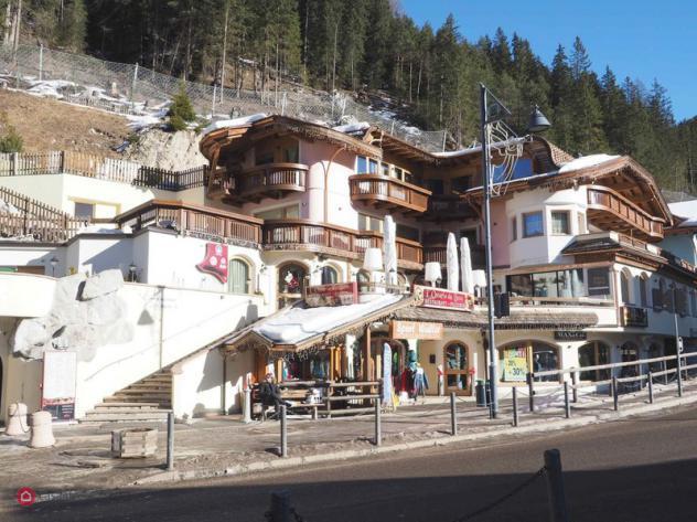 Locale commerciale di 57mq in via dolomites 105 a canazei