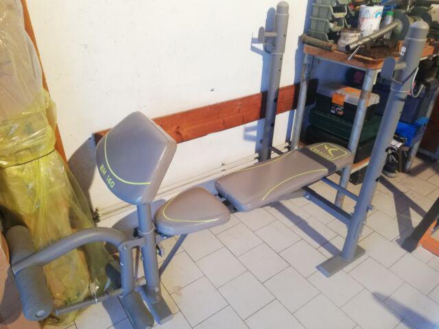 Panca piana + leg extension
