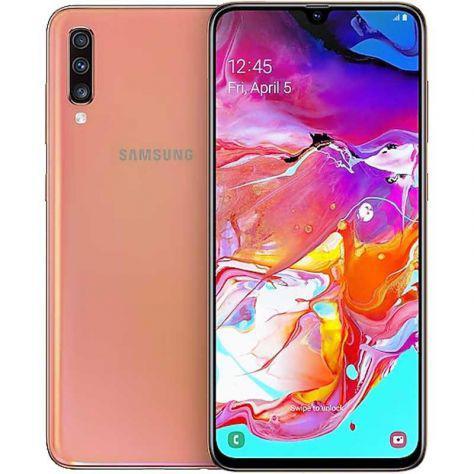Samsung galaxy a70 pari al nuovo corallo 6.7 pollici
