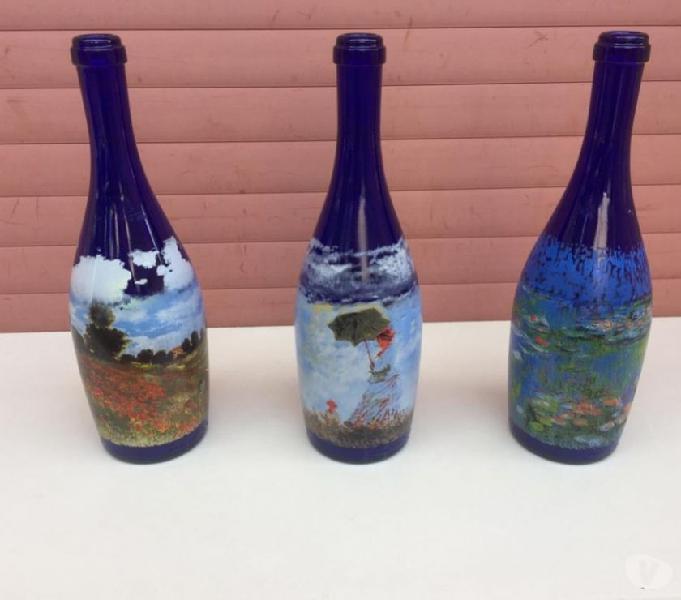 Bottiglie claude monet collezione la pieve