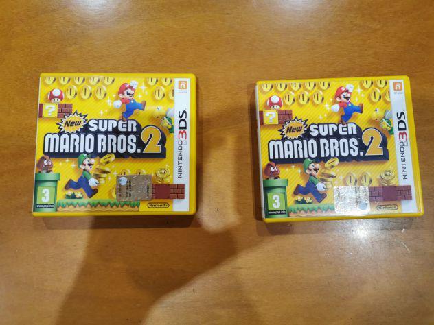 Coppia new super mario bros 2 nintendo 3ds