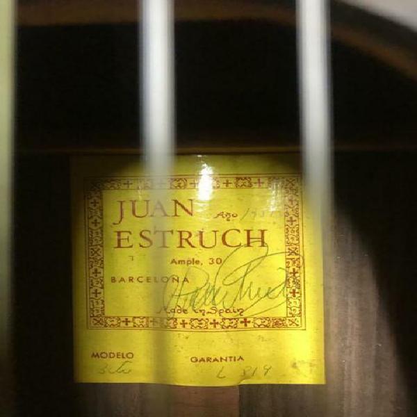 Chitarra classica juan estruch