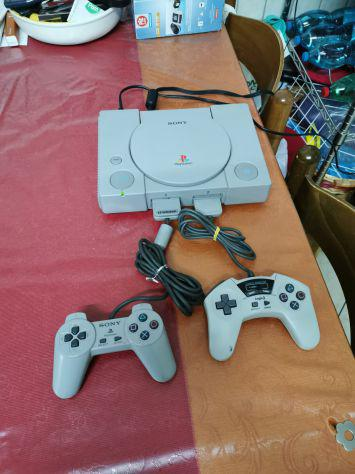 Console sony playstation 1 psx ps1 due controller memory
