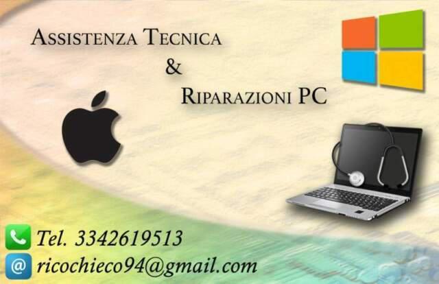Formattazione, installazione windows e mac, pulizia pc