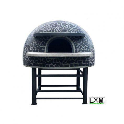 Forno a legna artigianale per pizzeria - camera interna