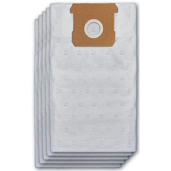 Set 5 sacchetti filtro 15 litri per aspirapolvere