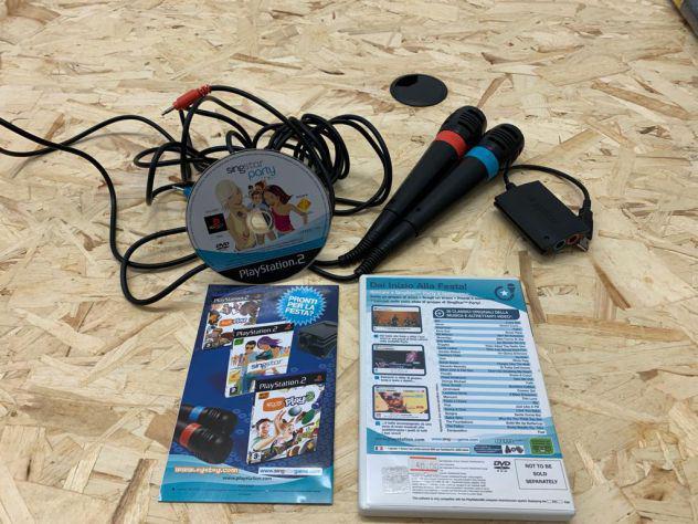 Singstar per playstation 2 completo di connettore e 2