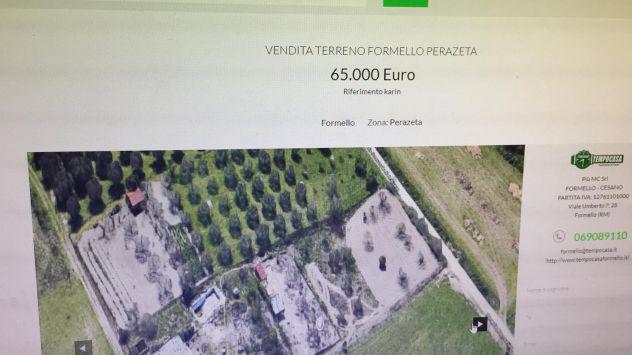 Vendita terreno/ affittasi terreno
