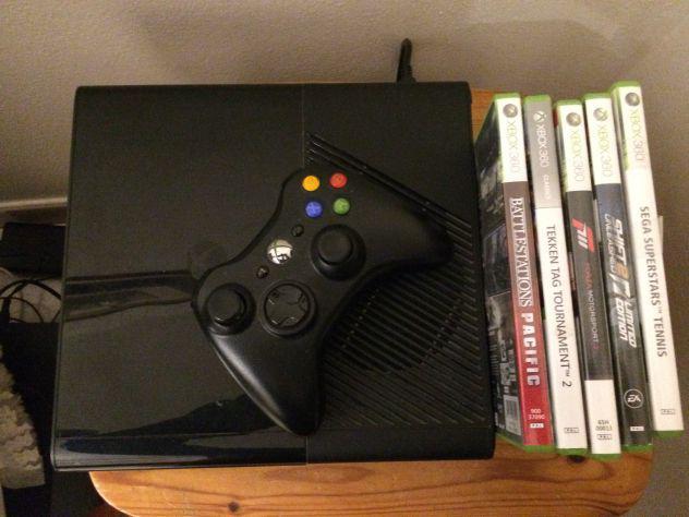 Xbox 360 e slim 250gb+ giochi