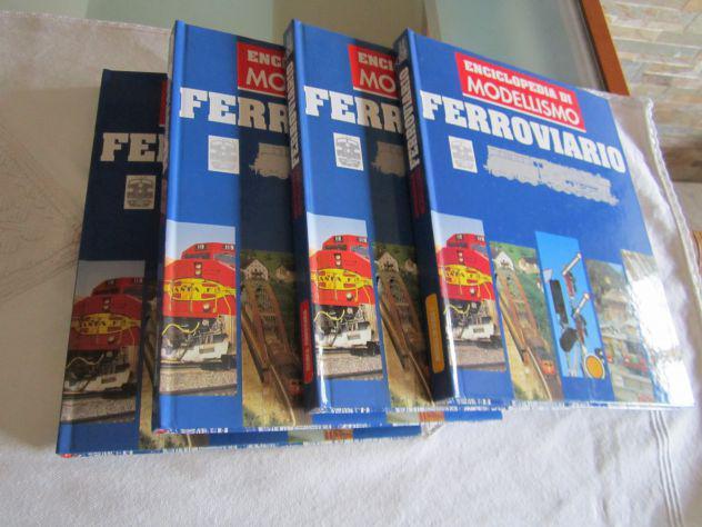 Enciclopedia di modellismo ferroviario hobby & work vol.1-2