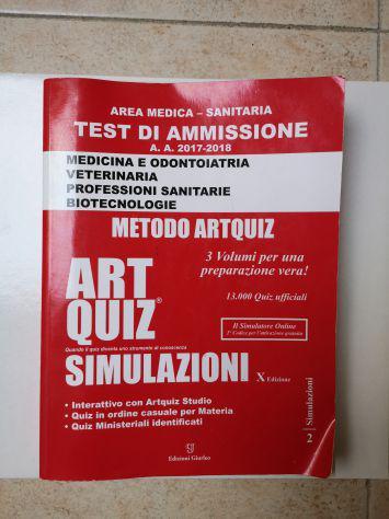 Libro art quiz simulazioni