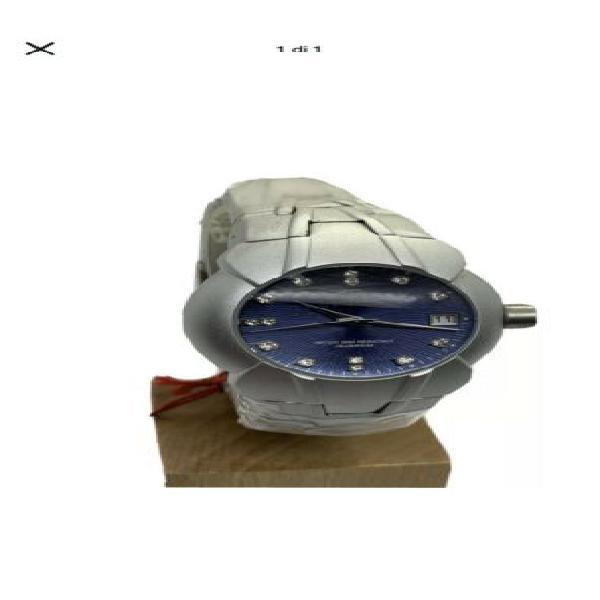 Orologio uomo da polso vintage lancaster alluminium quarzo