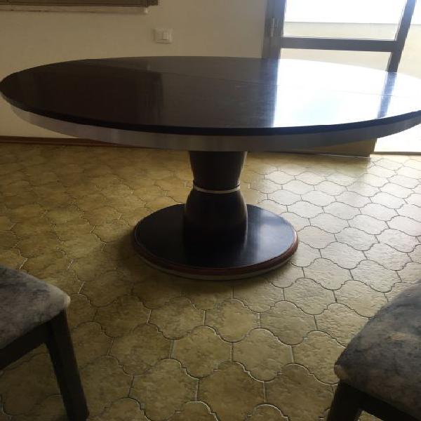 Tavolo allungabile in legno piu 4 sedie